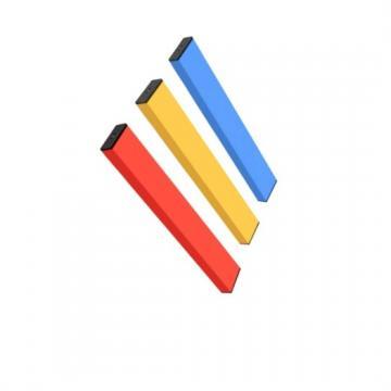2019 Custom Logo and Packaging Oval Disposable Cbd Oil Vape Pen with 210mAh Battery