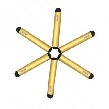 New Empty 0.5ml Cbd Oil Ceramic Coil Vaporizer Cartridge Disposable E Cigarette Vape Pen