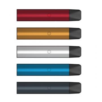 Hottest in Canada 0.25ml/0.3ml/0.5ml Oval Shape Ceramic Coil Cbd Vape Pen