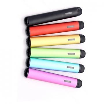 2019 Wholesale Oval Shape Ceramic Coil Vap Cbd Oil Disposable Vape Pen